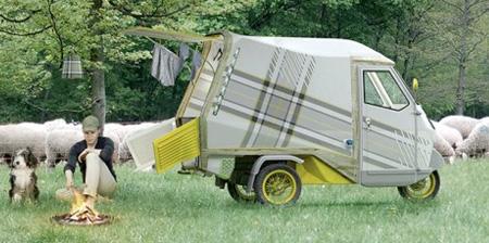 Мини-фургон для кемпинга