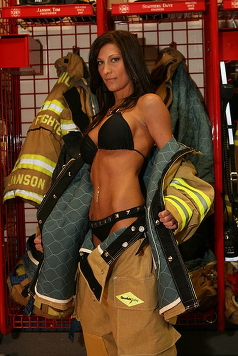 Hot firefighter girls fucking 1