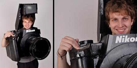 Костюм в виде фотоаппарата