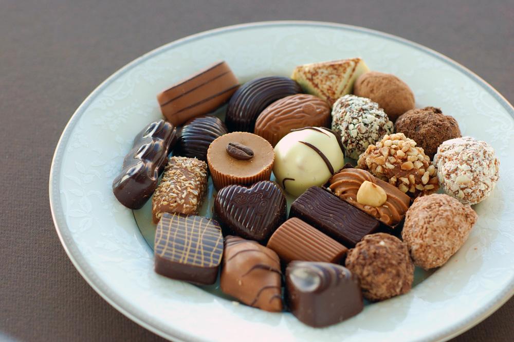 моя знакомая ела шоколад во время беременности и
