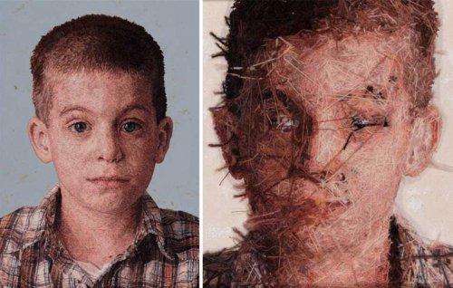 Вышитые портреты Кейси Завалья