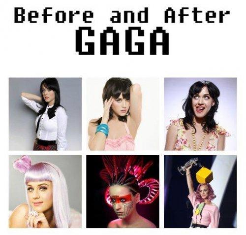 Как Леди Гага повлияла на своих коллег