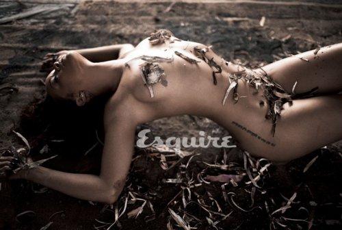 Фотосессия Рианны для Esquire
