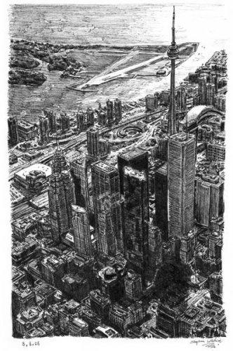 Стивен Вилтшер. Художник рисующий панорамы городов по памяти