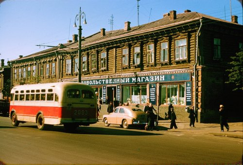 Москва 1956 в фотографиях Жака Дюпакье