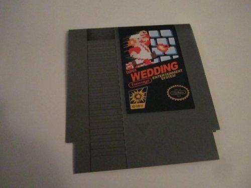 Свадебные приглашения в стиле Super Mario