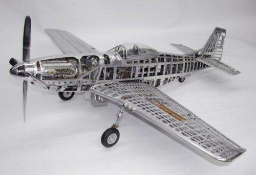 Миниатюрные модели самолетов Второй Мировой войны