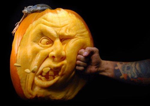 Дизайнерские тыквы к Хэллоуину