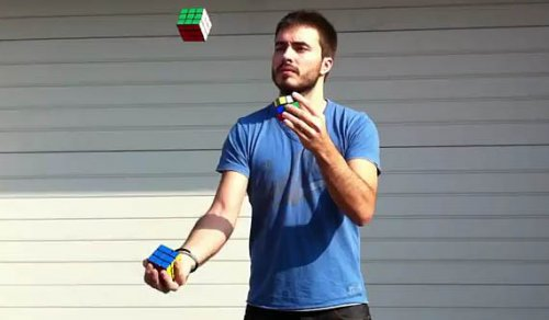 Новый вариант сборки кубика Рубика
