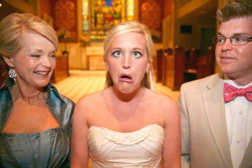 Свадебные фото-приколы