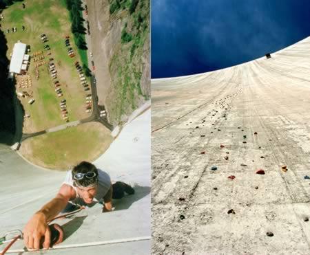 Стены для альпинизма со всего мира