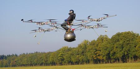 Прототип частного мини-вертолета