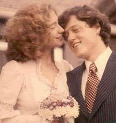 Свадебные снимки политиков