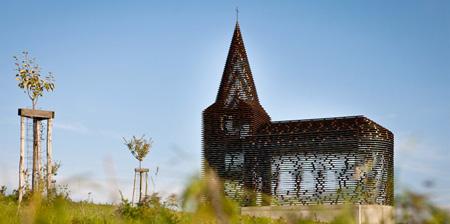 Прозрачная церковь (фото + видео)