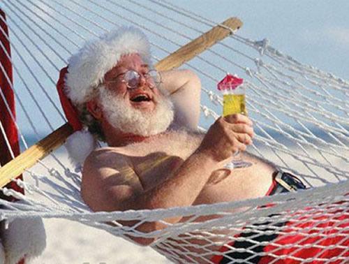 Веселые Санты и Деды Морозы