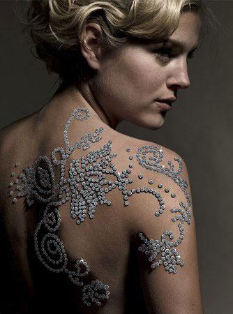 Бриллиантовая татуировка