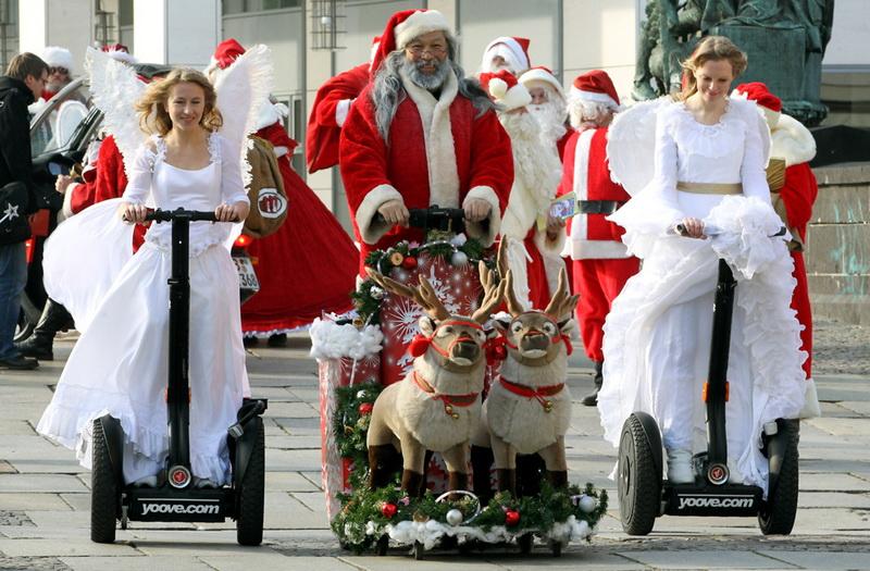Страны в которых новый год празднуют 25 декабря