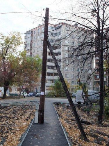 Трудовые будни коммунальщиков и строителей