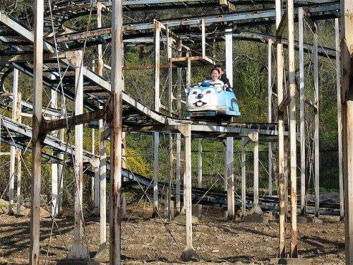 Самый унылый парк аттракционов в мире