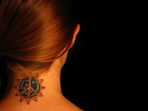 Прикольные татуировки на тему солнца