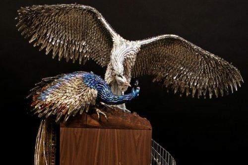 Удивительные павлины от Лорел Рот