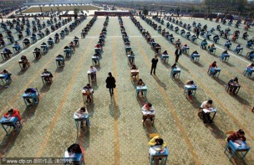 Китайские учителя в борьбе со списыванием