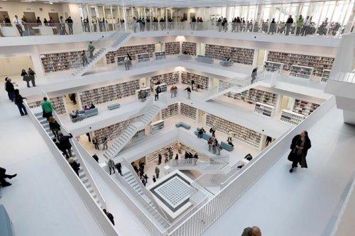 Новая библиотека Штутгарта