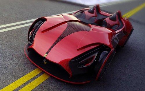 Концепт Ferrari Millenio