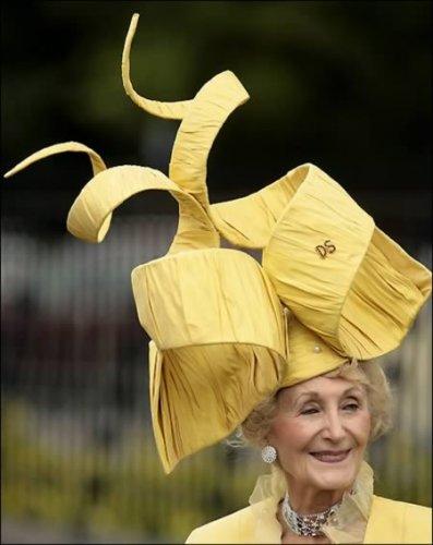 Нереальные шляпки