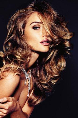 Рози Хантингтон-Уитли для немецкого Vogue