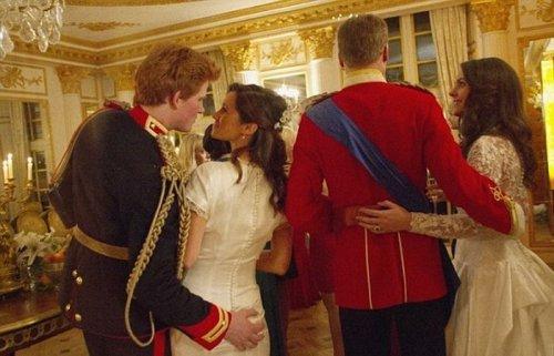 Королевская свадьба, за кадром