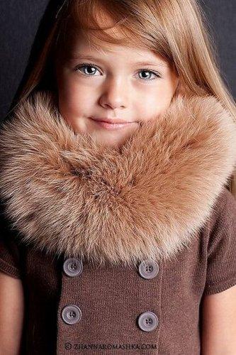 Кристина Пименова - маленькая модель