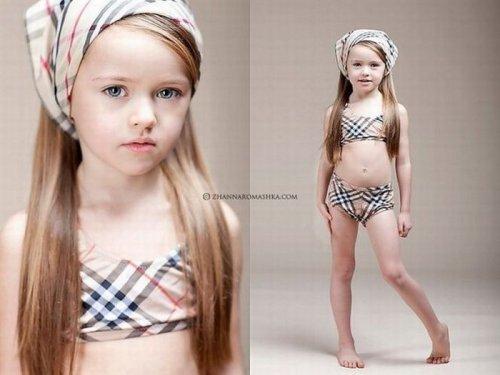 Kristina Pimenova (Кристина Пименова) - маленькая модель.
