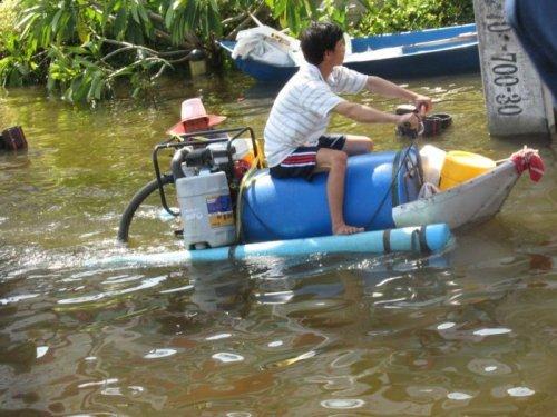 Как тайцы справляются с наводнениями