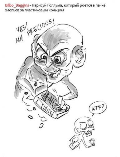 Рисунки художника из Nickelodeon
