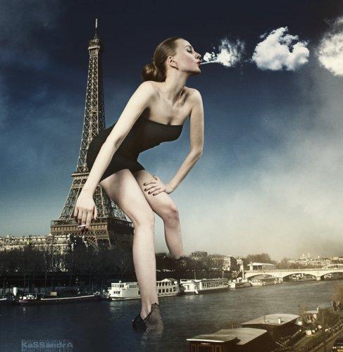 Мега - креативные фотографии от Kassandra