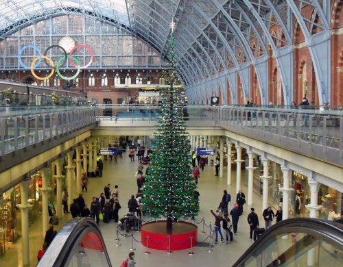 Самая высокая елка из LEGO