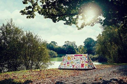 Необычный дизайн палаток
