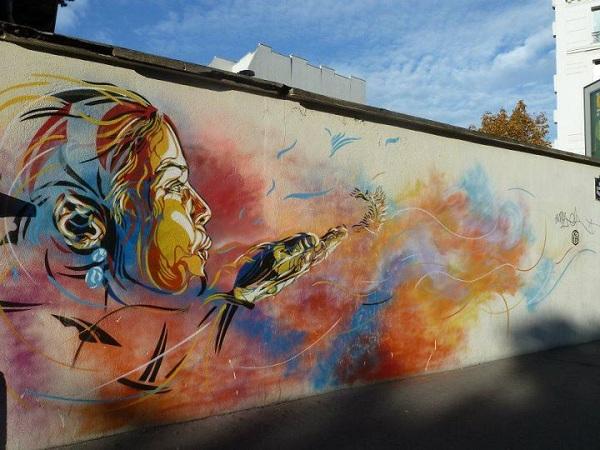 Лучший граффити рисующий