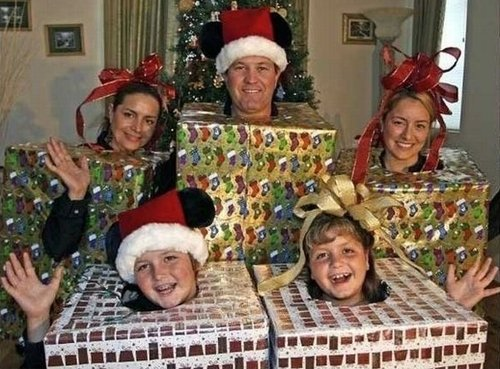 Неудачные рождественские фото