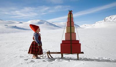 Серия зимней магии от фотографа Пера Бриехагена