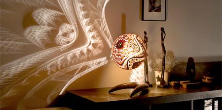 Удивительные лампы из тыкв