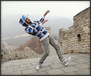 Дабстеп на Великой Китайской стене