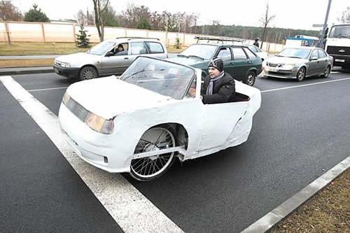 Школьник создал электромобиль