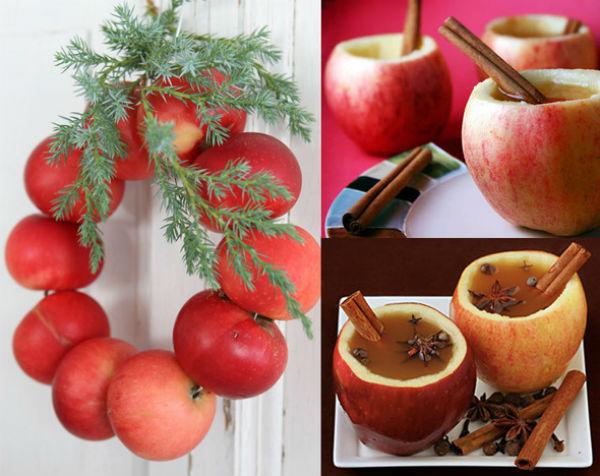Как сделать искусственное яблоко своими руками 4