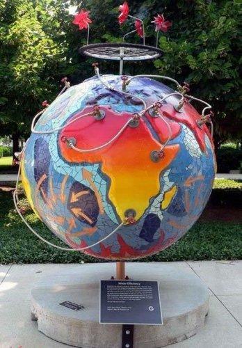 Необычные креативные глобусы