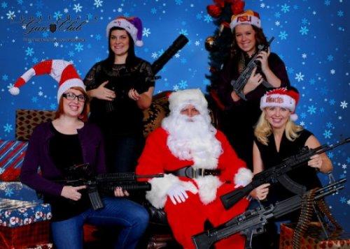 Санта и оружие