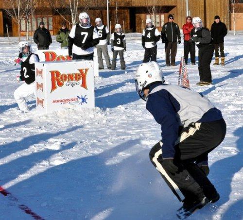 Юкигассен - игра в снежки по-японски