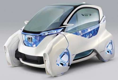 Концепт электрокара Honda Micro Commuter