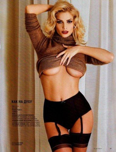 Фото Татьяны Котовой для журнала Playboy